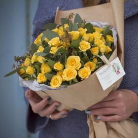 Букет кустовых роз Тоскания