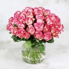 Букет из 51 розы Карусель