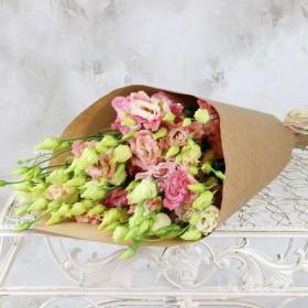 Букетиз розовой эустомы Сайма