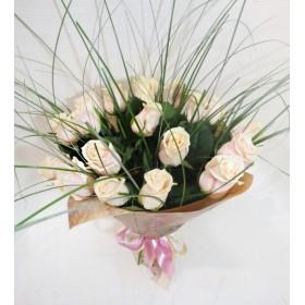 Букет роз Айвори