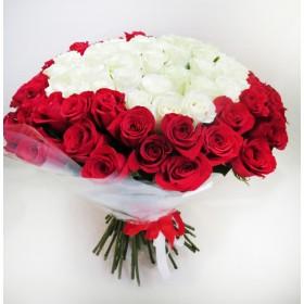 Букет роз Рэдвайт