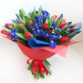 Букет тюльпанов Стайл