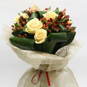 Букет с розами Алиса