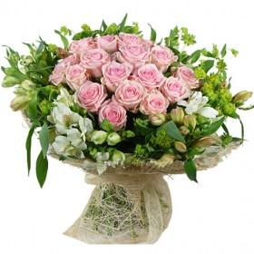 Букет с розами Розовинка