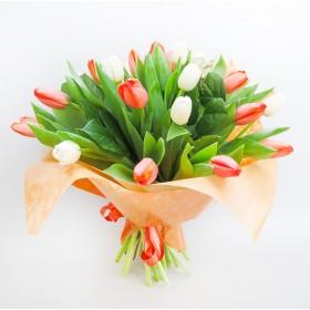 Букет тюльпанов Краски лета