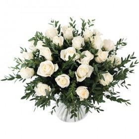 Букет белых роз  №143