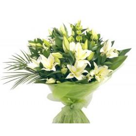 Букет с лилиями  №167