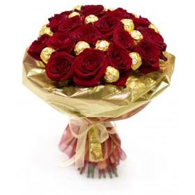 Букет из роз Ферреро