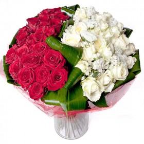Букет роз Малиновые грезы
