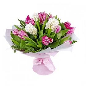 Букет тюльпанов Пинк