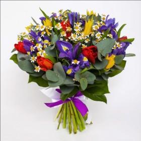 Букет весенних цветов Креон
