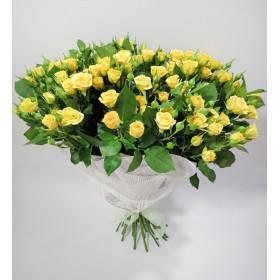 Букет из кустовых роз Рэдиссон