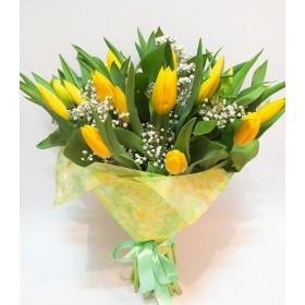 Букет тюльпанов Жёлтое лето