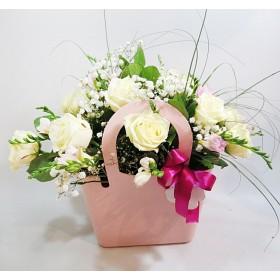 Сумочка с розами Розалия