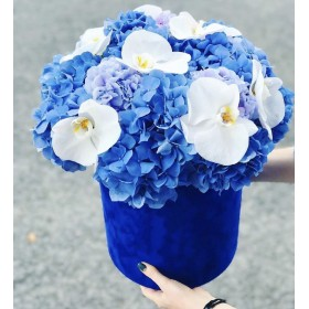 Коробка с цветами №59