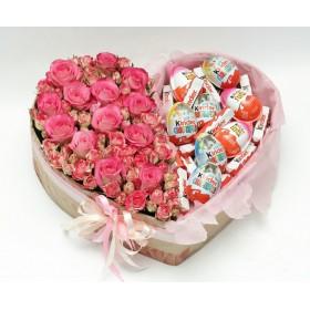 Цветы в коробке №58