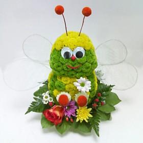 Игрушка из цветов Мушка