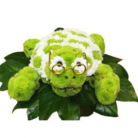 Игрушка из цветов Тортила