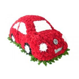 Игрушка из цветов Автомобиль