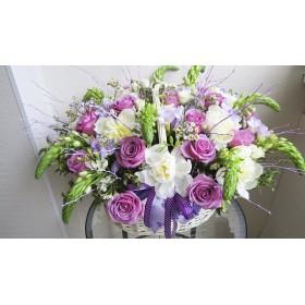 Корзина цветов Марианна