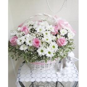 Корзина цветов Классика
