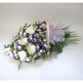 Корзина цветов №284