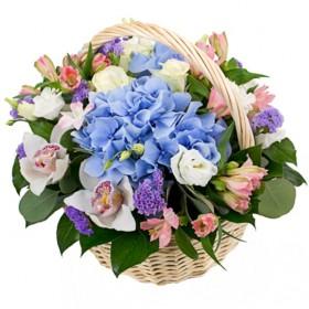 Корзина цветов Сицилия