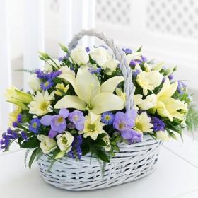 Корзина цветов Ксени
