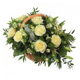 Корзина цветов №272