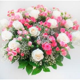 Корзина цветов№10