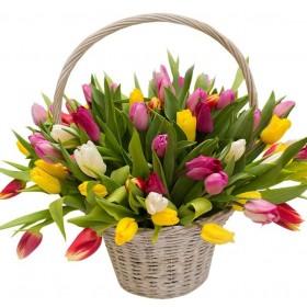 Корзина Яркая весна