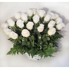 Корзина цветов №265