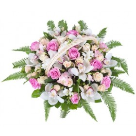Корзина цветов Рапсодия