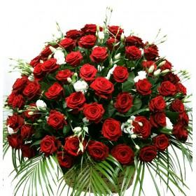 Корзина с цветами Тропикана