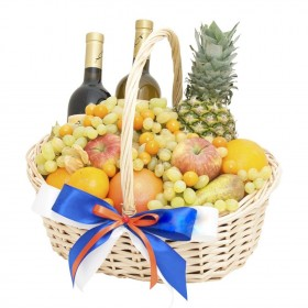 Корзина с фруктами Декор