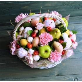 Корзина с фруктами Дивный вечер