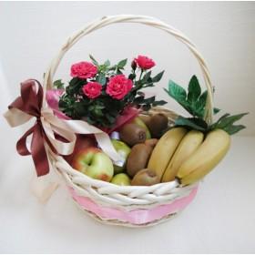 Корзинка с фруктами Эмель