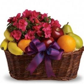 Корзина с фруктами Знак внимания
