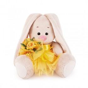 Зайка Ми в жёлтой юбочке с цветами