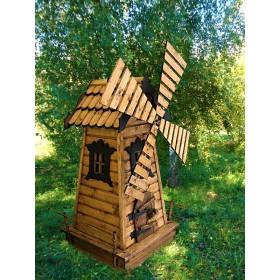 Деревянная мельница Гуси-Лебеди