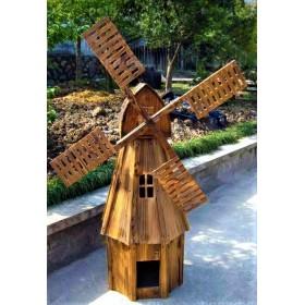 Деревянная мельница Норвегия