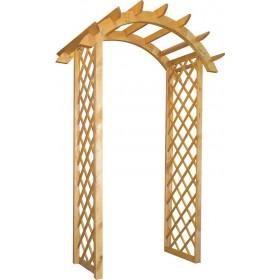 Деревянная арка №1
