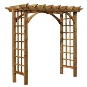 Деревянная арка №3