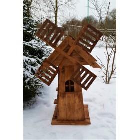 Деревянная мельница Шале