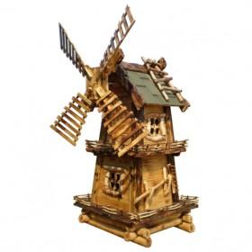 Декоративная мельница с обжигом №1