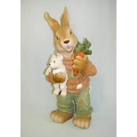 Заяц с мишкой