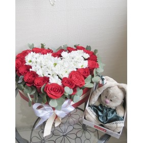 Сердце из роз Мирабель