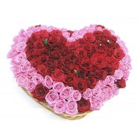 Сердце из роз Для королевы