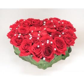 Сердце из роз Розмари