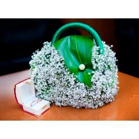 Букет невесты сумочка